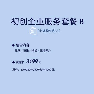 初创企业服务套餐B